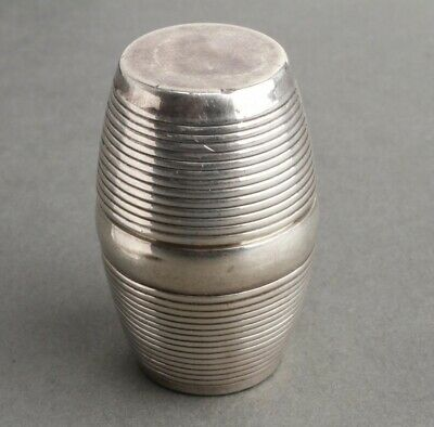 1799 English Sterling Silver Nutmeg Grater London
