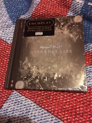 COLDPLAY EVERYDAY LIFE CD ALBUM Unwanted Gift New