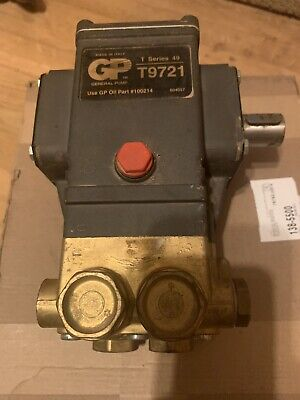 General Pressure Washer Pump T9721
