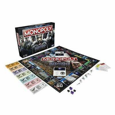 Monopoly Game Black Panther Edition Board Game - Hasbro