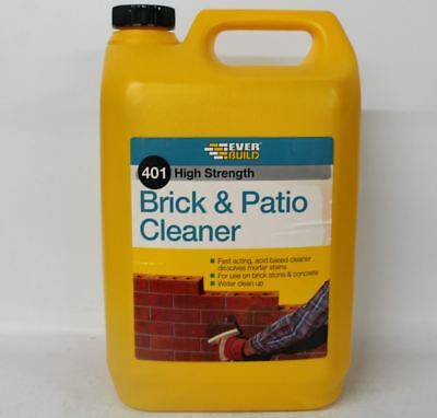 NEW EVER BUILD High Strength Fast Acting Acid Brick & Patio Cleaner