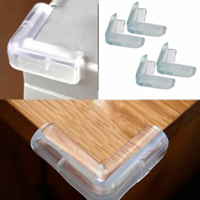 10PCS Child Baby Safe Silicone Protector Table Corner Edge Protection Cover Best