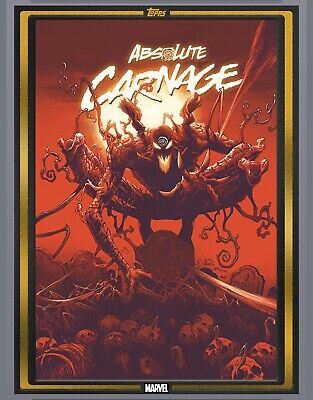 Topps Marvel Collect Comic Book Day Absolute Carnage #1 Gold cc1000 *digital