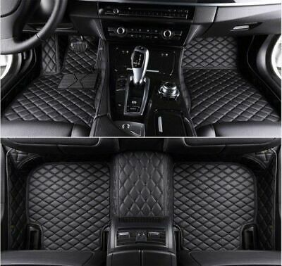 FIT For Jaguar-E-PACE-E-TYPE-XJ-XF-XK-XE Luxury Custom Car Floor Mats