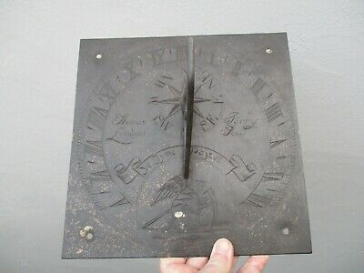 A Large Signed Victorian Bronze Sundial by Thomas Parry c1850?