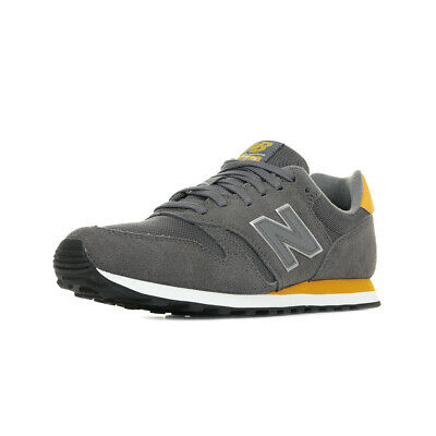 Chaussures Baskets New Balance homme 373 MCT taille Gris Grise Suède Lacets