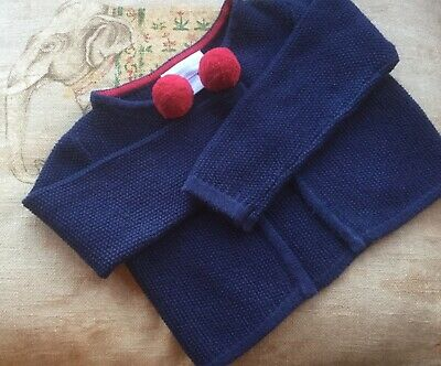 The Little White Company perfect Christmas cardi 12-18  VGC