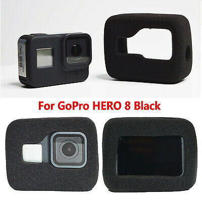 For GoPro HERO 8 Black Protective Case Body Shell Housing Foam Noise Reduction