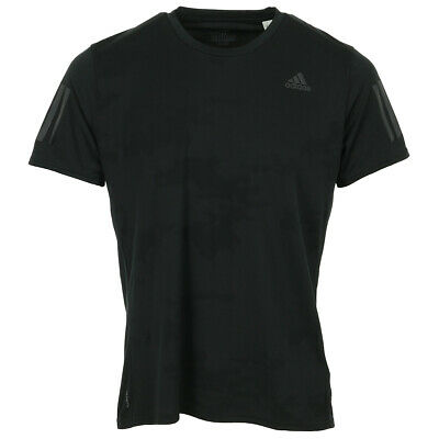 Vêtement T-Shirts adidas homme Response Tee taille Noir Polyester