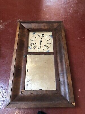 Large Clock And Case Needing Restoration Not Working Gorgeous clock case Mirror