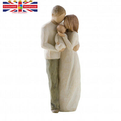 Willow Tree Our Gift Figurine 8.5-Inch, Natural