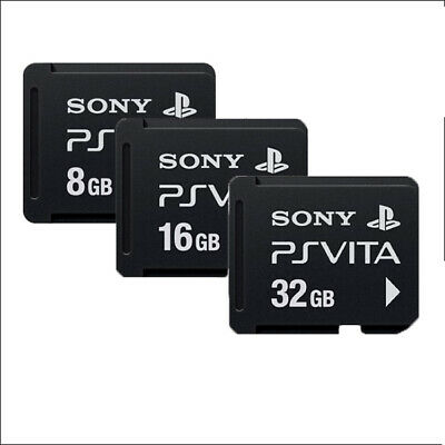 Sony  Original Memory Card 32GB,16GB,8GB For Playstation PS Vita
