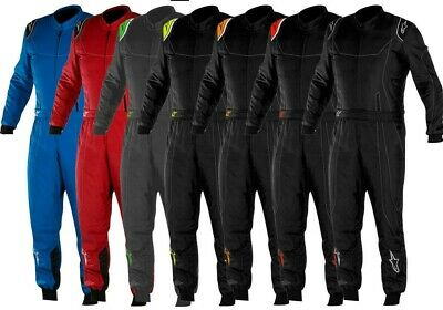 ALPINESTARS KMX-9 Race Suit Kart Suit Karting Racewear ADULT Freepost