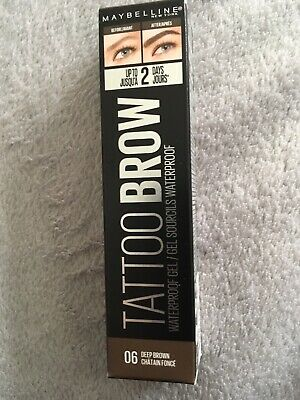 Maybelline Tattoo Brow Nr.06 Deep Brown