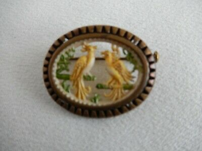 Broche Ancienne     Couleur Or Tbe
