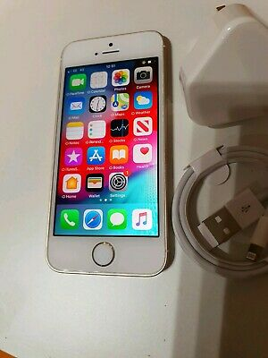 Apple iPhone SE - 16GB - Gold (Unlocked) A1723 (CDMA + GSM) VERY GOOD CONDITION