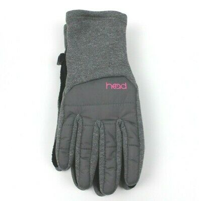 Head Womens M, L Gray, Black, Pink Touch Screen Running Hybrid Gloves
