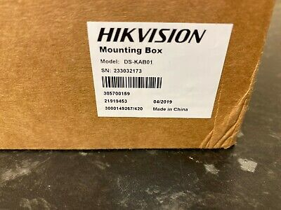 Hikvision DS-KAB01 Mini Door Station Surface Mount Boxed- used