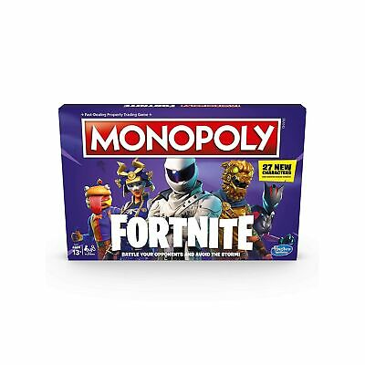 Monopoly Fortnite Edition Family Children War Property Trading Party Board Game