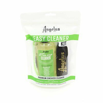 Angelus Easy Cleaner Kit for Leather Suede Rubber Linen Canvas Vinyl