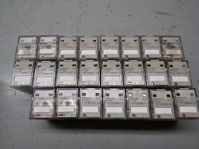 Omron MY4N Relay 120V Lot of 23! - USA Seller