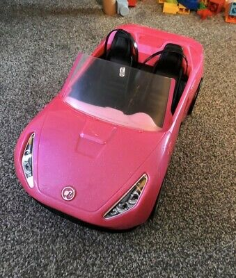 Barbie Mattel Pink Convertible Car