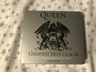 Queen Greatest Hits I, II & III The Platinum Collection 3-CD Set