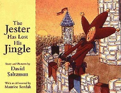 The Jester Has Lost His Jingle by David Saltzman (1995, Hardcover, Illustrated)