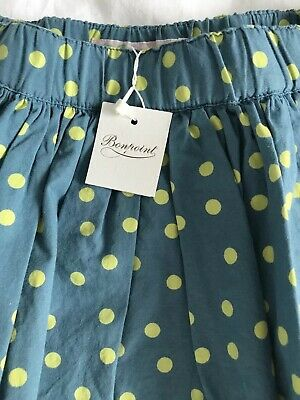 Girls BNWT Bonpoint Party Occasion Skirt With Tulle Underskirt Age 4