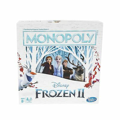 Monopoly Game: Disney Frozen 2 Edition Board Game for Ages 8 & Up Standard