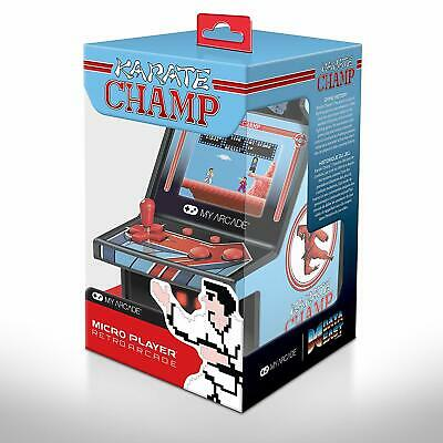 My Arcade Karate Champ Handheld Micro Player Retro Video Game-Fighting-Portable