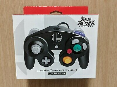 NEW Official Nintendo GameCube Controller Super Smash Bros Ultimate Switch Black