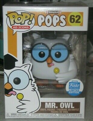 Funko Pop Ad Icons Tootsie Pops - Mr. Owl #62 - In Hand