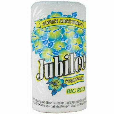 New 317155 Jubilee Paper Towel 2 Ply 90 Ct Big Roll (24-Pack) Disposable Cheap