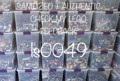 LEGO Bulk Lot 2 Pounds Bricks Parts and Pieces Clean Genuine 2 Lbs Grab Bag
