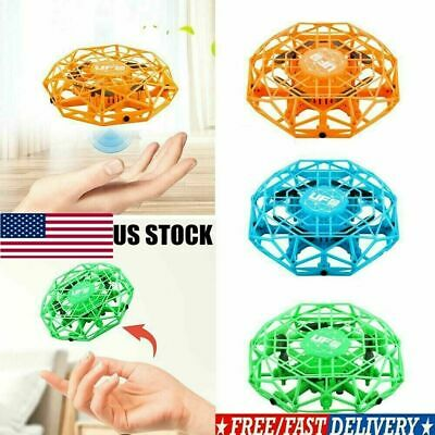 Mini Drones 360° Rotating Smart UFO Drone for Kids Flying Aircraft Toy Xmas Gift