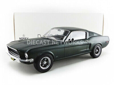 NO 122700 Ford Mustang Fastback 1968 Black  NOREV Echelle 1//12 NEWS