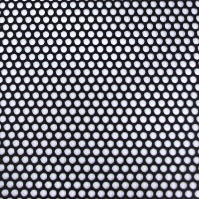 Small Hole Perforated Aluminum Sheet Metal Corrosion Resistant Black Lightweight