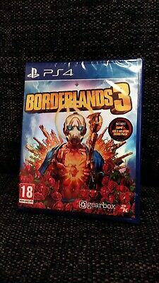 Borderlands 3 ps4 With Gold Weapons DLC-BNIB