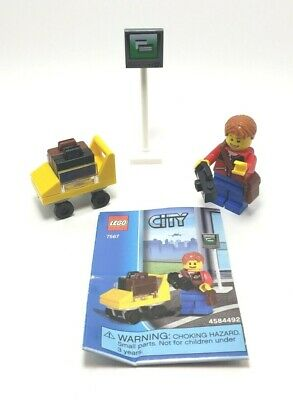 Lego Baby Stroller Yellow 10185 City Minifig Outdoor Tool