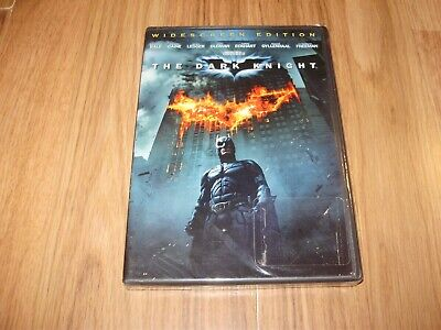 Unopened DVD-The Dark Knight-Christian Bale And Heath Ledger