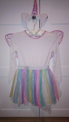 Girls UNICORN 🦄 fancy dress costume Marks and Spencer size 7-8years