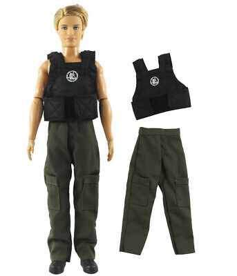 2 Pcs Set Dll Clothes/Outfit Top+pants For 12 inch Ken Doll Clothes B59