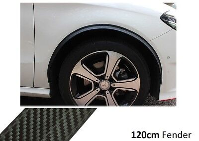 2x Wheel Thread Carbon Opt Side Sills 120cm for Mercedes Vito Tourer W447 Tuning
