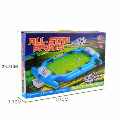 Mini Table Top Football Foosball Players Family Game Toy Kids Play Ball Set Gift