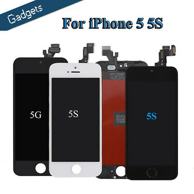LCD For iPhone 5/5S Touch Screen Replacement Digitizer +Display Assembly US