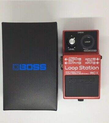 Boss RC-1 Loop Station With Original Box