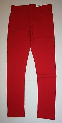 NEW Justice Red Athletic Full Length Leggings NWT 6 7 10 12 14 16 20 22 24 Girls