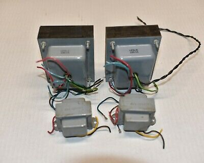 Lot of 4 Leslie EMI audio and power transformers