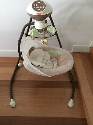Fisher-Price My Little Snugabunny Cradle N Swing Baby Swing